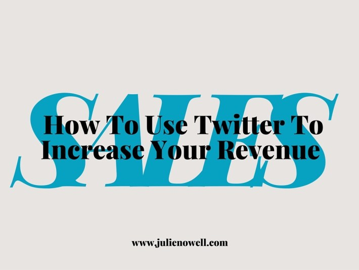 How to Use Only Twitter and a Sales Funnel to Increase Your Revenue